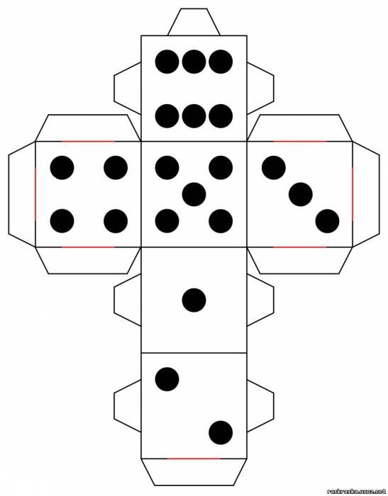 Как сделать кубики своими руками из бумаги