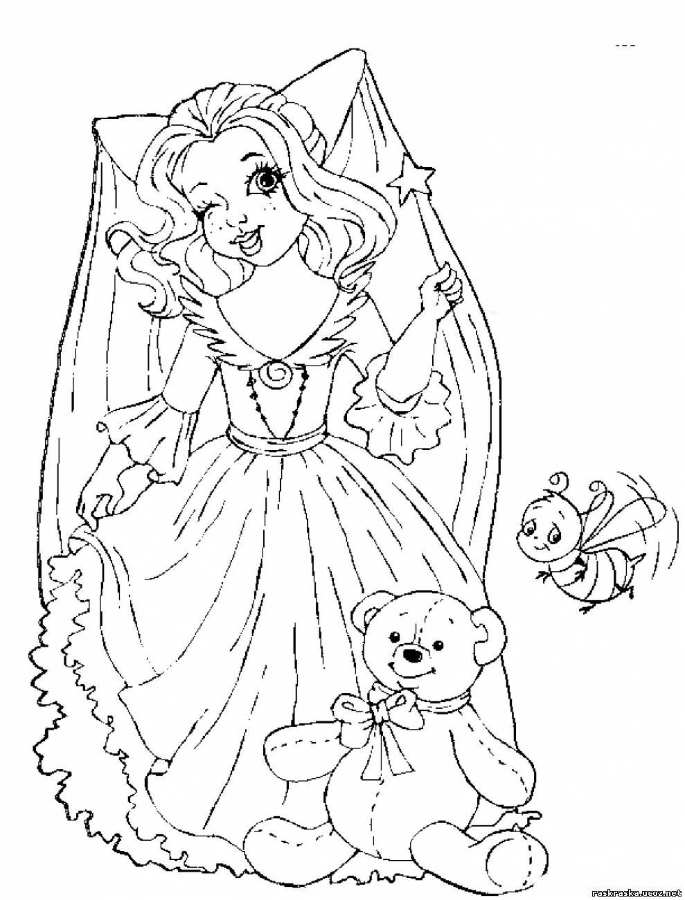 Fei 04 - Невесты, феи, принцессы и девушки - Разукрашки и ...