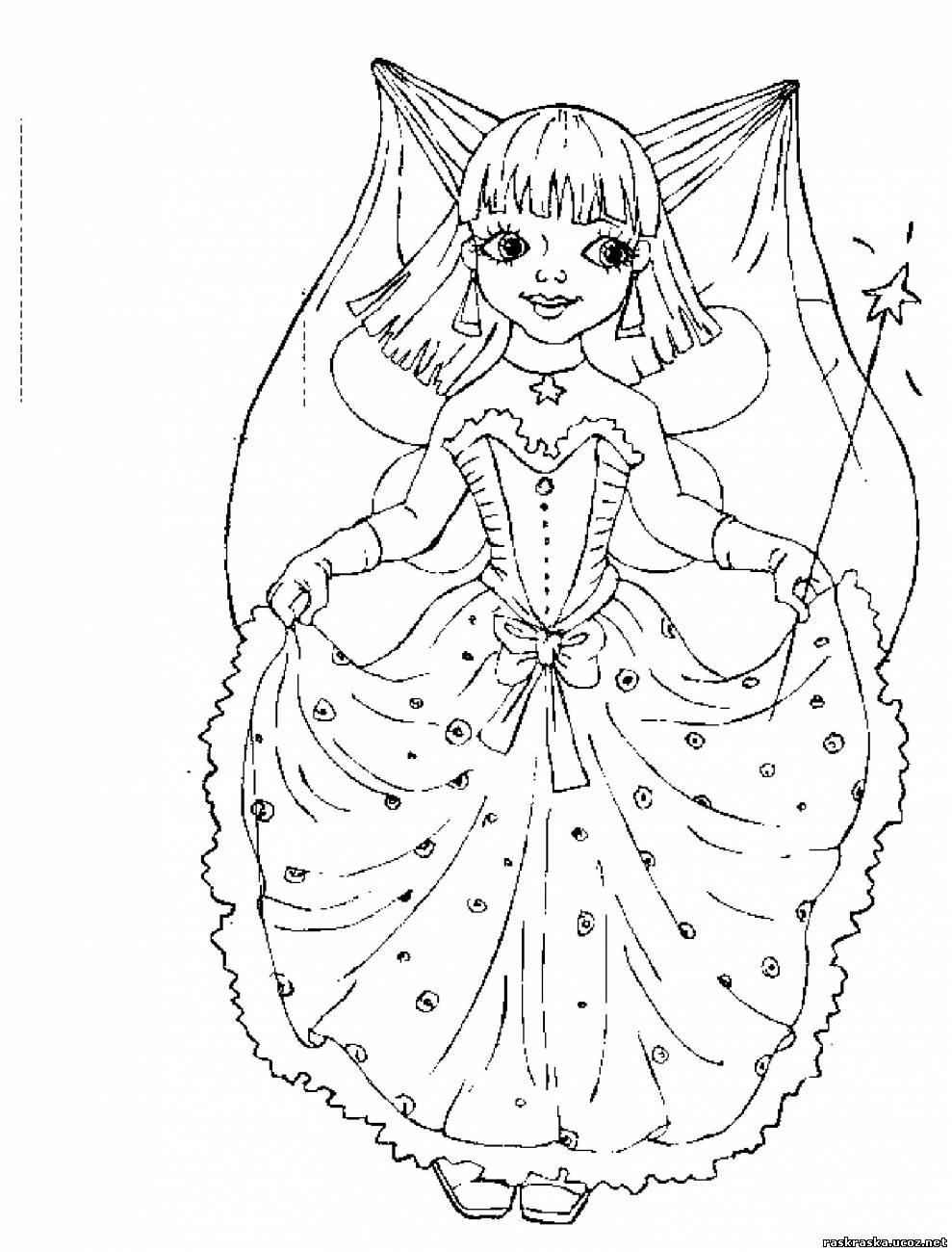 Fei 03 - Невесты, феи, принцессы и девушки - Разукрашки и ...